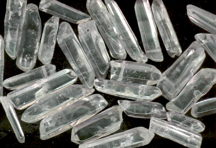 CLEAR QUARTZ POINT BEAD