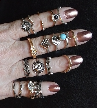 BOHO RINGS (5 to 50, Randomly Chosen)