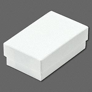 WHITE COTTON-LINED BOX (Small)