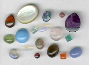 CABOCHON GEMS COLLECTION (5 to 50)