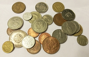 FOREIGN COINS (5)