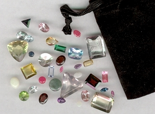 FACETED GEMS COLLECTION (5 to 50)
