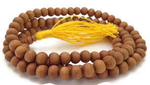 SANDALWOOD MALA (6mm)